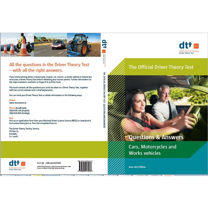 **New Edition**English Language - Official Driver Theory Test Questions and Answers Car, Motorcycles and Works Vehicles - June 2017 Edition