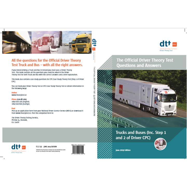 Official Driver Theory Test Questions and Answers, Truck & Buses (Including Step 1 and Step 2 of Driver CPC) June 2019 Edition