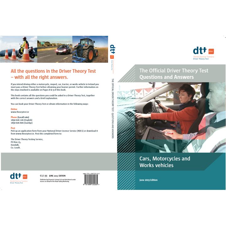 **New June 2019 Edition ** English Language - Official Driver Theory Test Questions and Answers Car, Motorcycles and Works Vehicles - June 2019 Edition